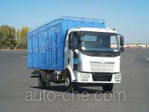 解放牌CA5160CCQP62K1L3A2E型平头柴油畜禽运输汽车