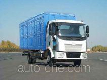 解放牌CA5160CCQP62K1L4A2E型平头柴油畜禽运输汽车