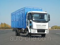 FAW Jiefang diesel cabover livestock transport truck