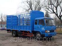 Huakai CA5160CLXYK28L5CE3 stake truck