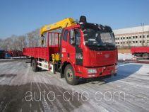 解放牌CA5160JSQP62K1L2A2E5型随车起重运输车