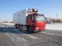 解放牌CA5160XLCP62K1L4A1E5型冷藏车