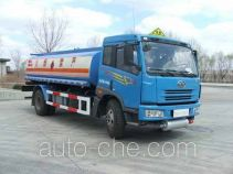 FAW Jiefang CA5163GJYP7K2L2E diesel cabover oil tank truck