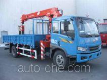 FAW Jiefang CA5160JSQP10K1L6E4 truck mounted loader crane