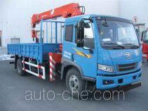 FAW Jiefang CA5163JSQP10K1L5E4 truck mounted loader crane