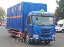 FAW Jiefang CA5182XRYPK2L5E5A80 flammable liquid transport van truck