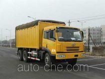 FAW Jiefang CA5233XXYP7K2T1E soft top box van truck