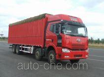 FAW Jiefang CA5240CPYP66K2L7T4E4 soft top box van truck