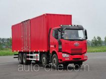 FAW Jiefang CA5240XXYP63K1L6T4A1HE diesel cabover box van truck