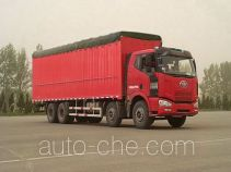 FAW Jiefang CA5240XXYP63K1L6T4A2HE diesel cabover box van truck with canopy top
