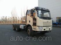 解放牌CA5250GJBP62K1T1E5型混凝土搅拌运输车底盘
