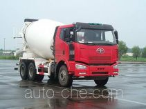 解放牌CA5250GJBP66K22L1T1E型平头柴油混凝土搅拌汽车
