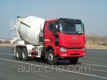 解放牌CA5250GJBP66K24L2T1E型平头柴油混凝土搅拌汽车