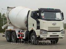 解放牌CA5250GJBP66K2L1T1E型平头柴油混凝土搅拌汽车