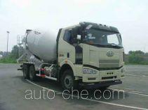 解放牌CA5250GJBP66K2L2T1E4型混凝土搅拌运输车