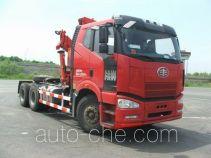 解放牌CA5250JQQP66K2L1T1E4型随车式起重牵引运输车