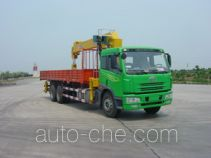 FAW Jiefang CA5250JSQA70E3 truck mounted loader crane