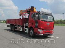 FAW Jiefang CA5250JSQP63K1L5T1E4 truck mounted loader crane