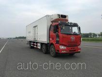 解放牌CA5250XLCP63K1L6T3E5型冷藏车
