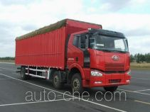 FAW Jiefang CA5200XXYP63K1L6T3A2E diesel cabover box van truck with canopy top