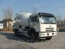 解放牌CA5252GJBP2K2T1A1E型平头柴油混凝土搅拌运输车