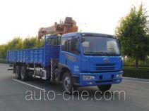 FAW Jiefang CA5252JSQA70E3 truck mounted loader crane