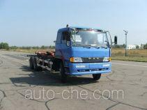 FAW Jiefang CA5258ZXXP1K2L7T1 detachable body garbage truck