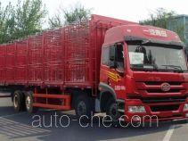 解放牌CA5310CCQP1K2L7T10E4A80型畜禽运输车