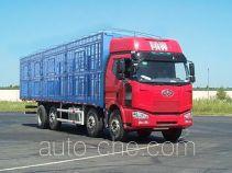 解放牌CA5310CCQP63K1L6T10A2E型平头柴油畜禽运输汽车