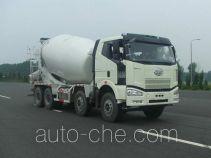 解放牌CA5310GJBP66K2T4E型平头柴油混凝土搅拌运输车