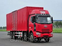 FAW Jiefang CA5240XXYP63K2L6T4A1HE diesel cabover box van truck