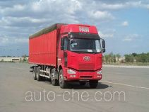 FAW Jiefang CA5310XXYP63K1L6T4A2HE diesel cabover box van truck with canopy top