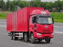 FAW Jiefang CA5310XXYP63K2L6T4A1E1 diesel cabover box van truck