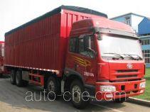 FAW Jiefang CA5312XXYP1K2L7T4EA80-2 soft top box van truck