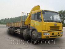 FAW Jiefang CA5313SQP7K1L11T4E truck mounted loader crane