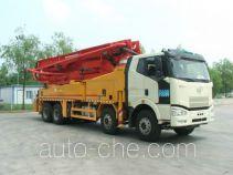 解放牌CA5420THBP66K22L6T4A1E型混凝土泵车