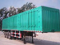 Yeluotuo CA9400XXY box body van trailer
