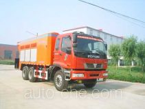 Seal coating truck
