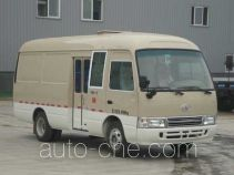 FAW Jiefang CDL5046XXYDC1 box van truck