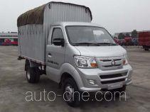 Sinotruk CDW Wangpai CDW5030CPYN2M4 soft top box van truck