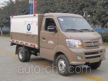 Sinotruk CDW Wangpai sealed garbage container truck