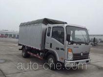 Sinotruk CDW Wangpai CDW5040CPYA1Q5N soft top box van truck