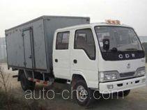 Sinotruk CDW Wangpai CDW5040XXYF2B3 box van truck