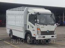 Электрический грузовик с решетчатым тент-каркасом Sinotruk CDW Wangpai