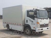 王牌牌CDW5070XXYH2PEV型纯电动厢式运输车