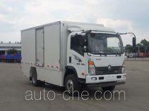 王牌牌CDW5100XXYH1QEV型纯电动厢式运输车