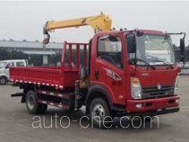 王牌牌CDW5110JSQHA2R5型随车起重运输车