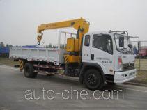 Sinotruk CDW Wangpai CDW5160JSQA2C4 truck mounted loader crane