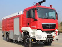 Xinaike CEF5180GXFJX40/EX airport fire engine