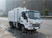 Sanli CGJ5071ZDJE5 docking garbage compactor truck